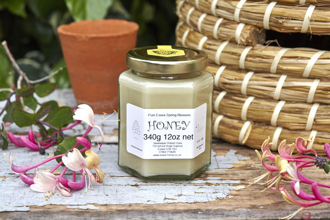 Spring Blossom Honey mainly oil seed rape 12oz Glass Jar