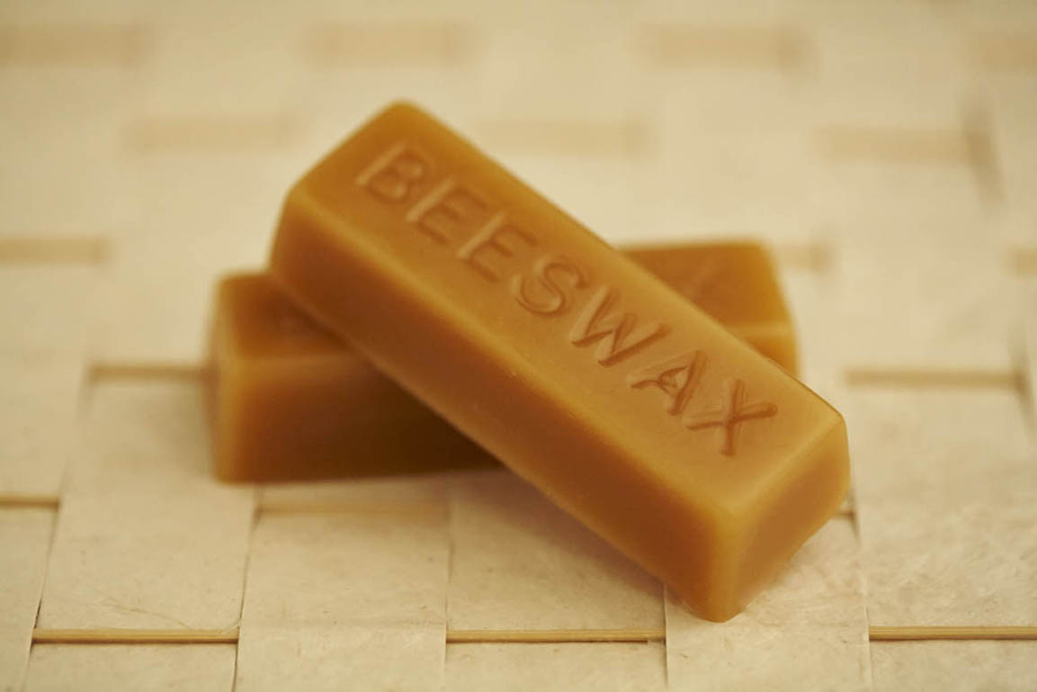 Natural pure beeswax blocks